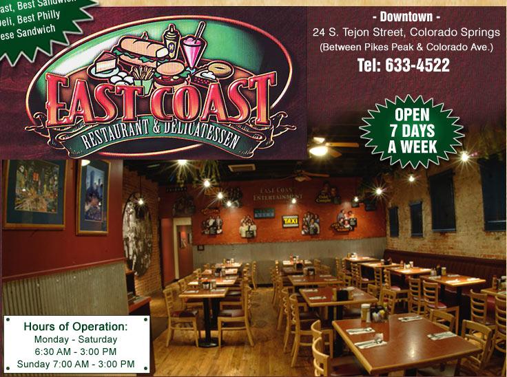 East Coast Restaurant And Deli